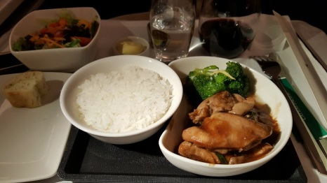 Three cup chicken with rice
