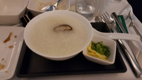 Chicken and Black Mushroom Congee
