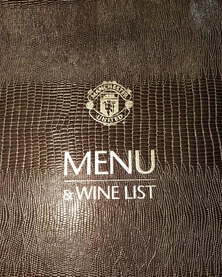 Nice menu cover