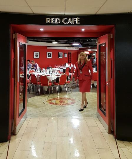 Red Cafe Entrance