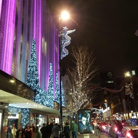 Festive Xmas lights