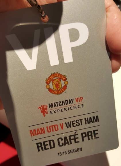 MatchDay VIP card