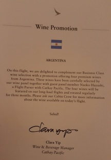 Cathay monthly wine promotions