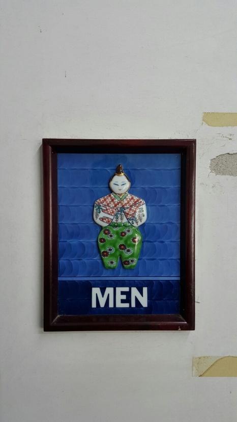 Porcelain signs - Mens