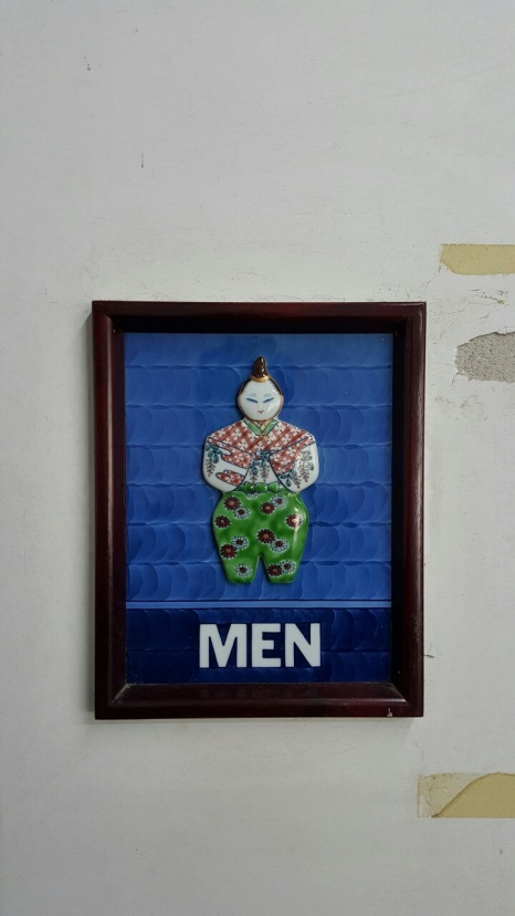 Porcelain signs - Mens