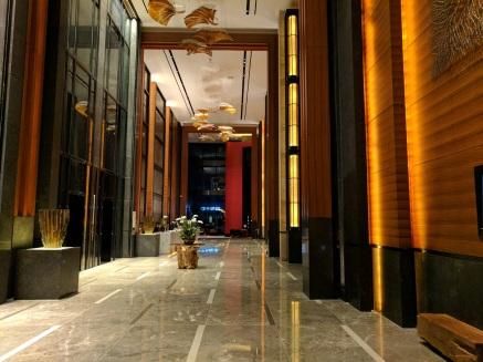 Very stylish lobby