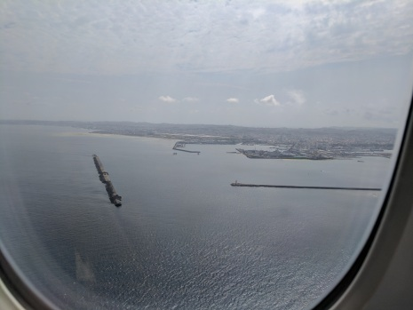 Approaching Naha, Okinawa