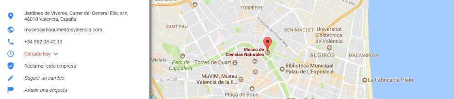 Jardines de Viveros, Carrer del General Elio, s/n, 46010 Valencia, España