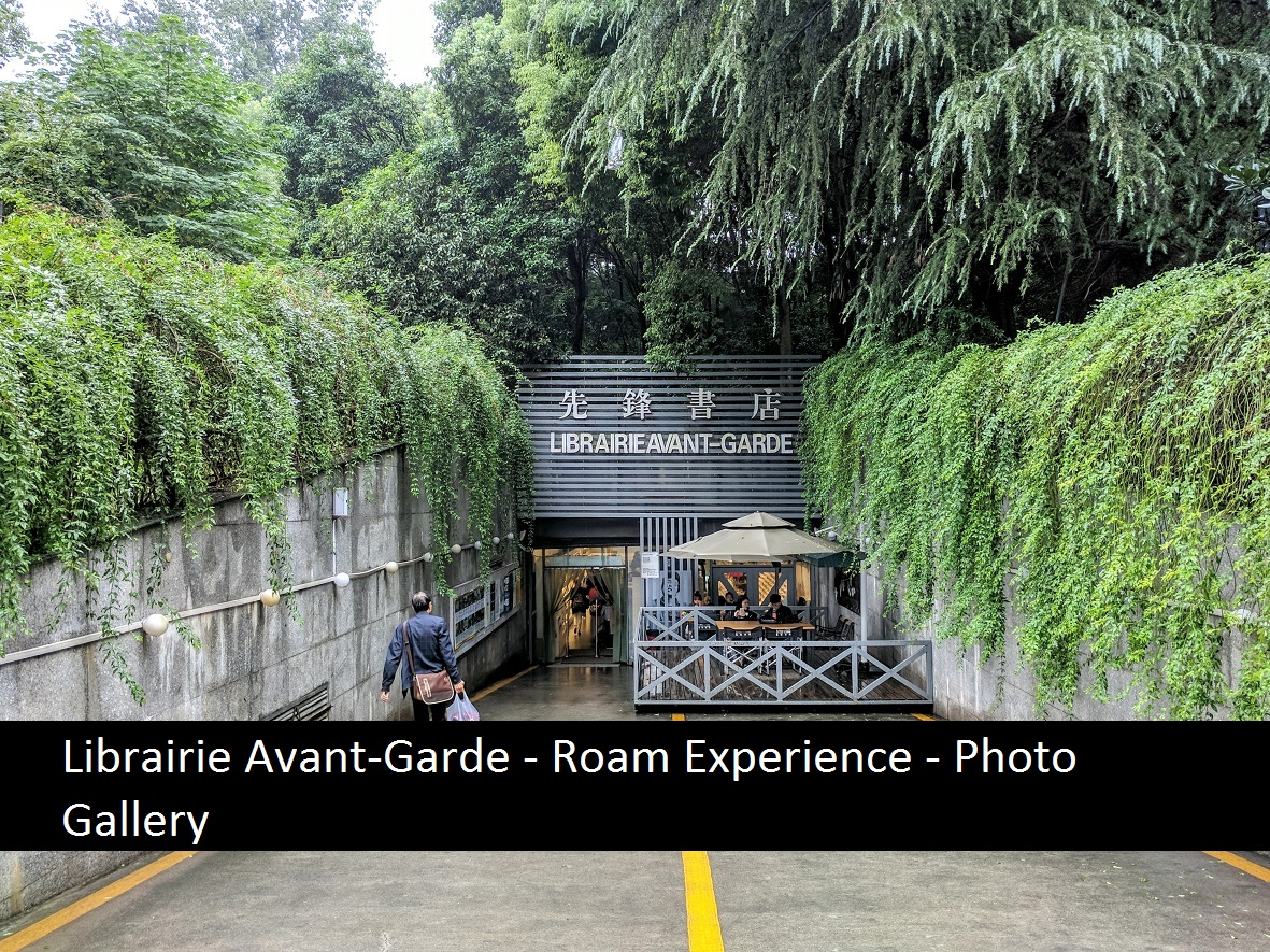 Librairie Avant-Garde – Roam Experience – Photo Gallery
